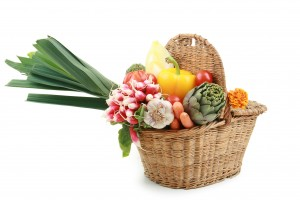 légumes, panier de légumes