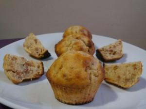 muffins poires spréculoos
