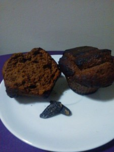 Muffins chocolat fève Tonka